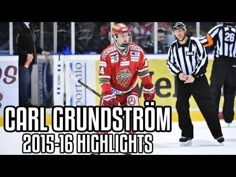 Carl Grundström | 2015-16 Highlights | MODO Hockey