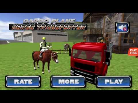 Cargo Plane: Horse Transporter -  Android Gameplay HD