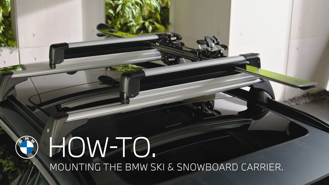Mounting the BMW Ski and Snowboard Carrier - How To