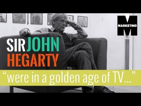 "CAMPAIGN TV: Sir John Hegarty says ""advertising has got worse"""