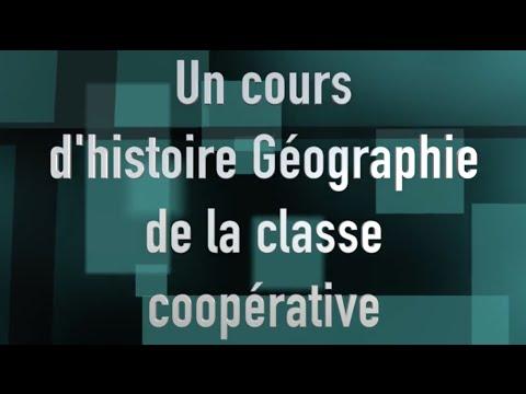 La classe coopérative cours d'histoire géographie