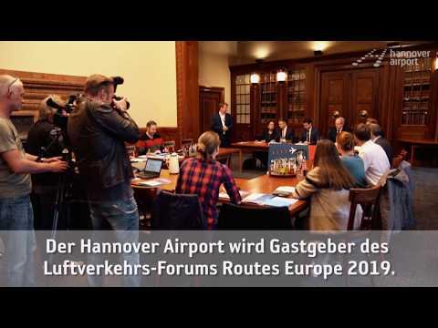 "Luftverkehrs-Forum ""Routes Europe 2019"" kommt nach Hannover"
