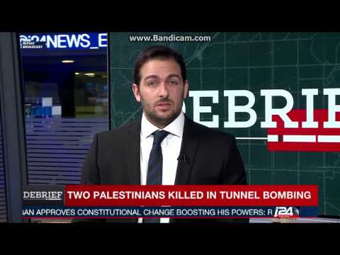 In the i24 Studio to talk about the Sinai Insurgency and Israel