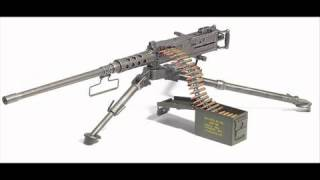 M2 Browning Machine Gun sound effects