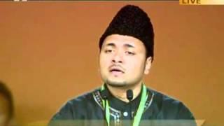 """Urdu Nazm  """"Hamdo Sana Ussi Ko"""" Jalsa Salana UK 2011"""