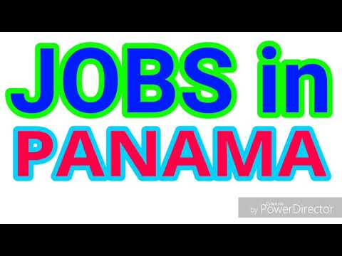 JOBS in PANAMA | 10 LATEST JOBS for ALL NATIONALITY | JOBS TODAY