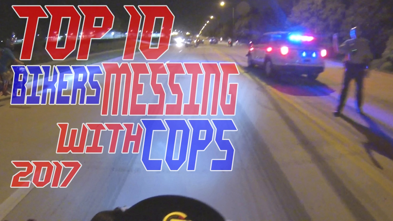Top 10 Cops VS Bikers MESSING With Police Chase Motorcycle GETAWAY Videos COP Car Chases Street Bike
