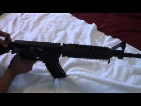 Carabina Colt M4 con Chiappa M4-22 upper calibre .22 T!