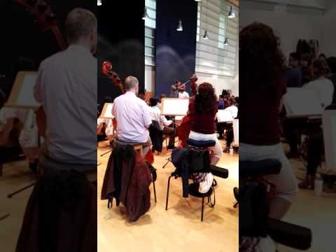 Rosenkavalier Suite (R. Strauss). Ensayo. Dir: Ignacio Borrego