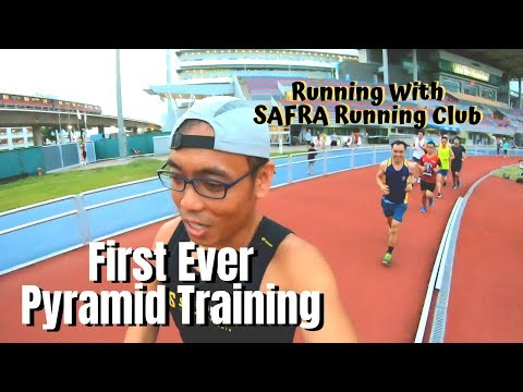 Pyramid Training with SAFRA Running Club Jurong
