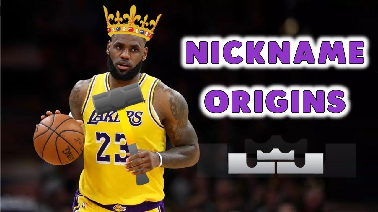 History of LeBron James' Nicknames