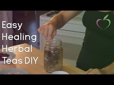 Easy Healing Herbal Teas DIY