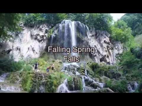 BEST Virginia Waterfall : Falling Spring Falls : MyAdventureHat