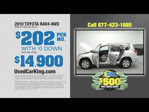 July Used Vehicles from Used Car King!