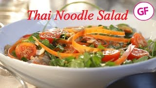 Vegan Thai Noodle Salad With Kelp Noodles