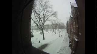 6 Hours in 60 Seconds: Winter Timelapse at Trinity College (Conn.)