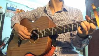 CHỜ ANH NHÉ COVER GUITAR BY THINH ANH