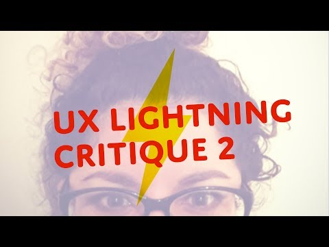 UX Design Portfolio Lightning Critique 2 | I Am Not My Pixels