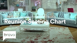RHOA: Official Season 9 Reunion Seating Chart (Season 9) | Bravo