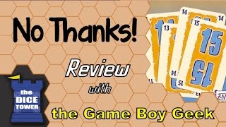 No Thanks! Review - with the Game Boy Geek