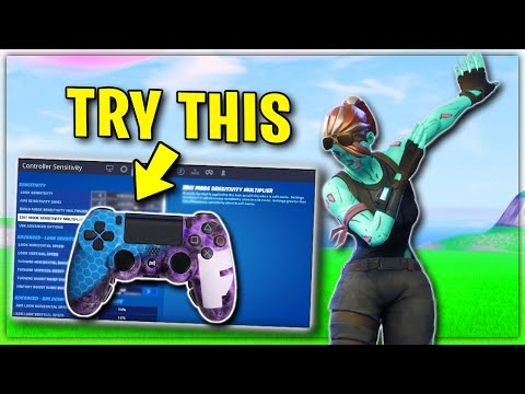 Fortnite Console Setting That Will Improve Your Game! Xbox + PS4 Tips