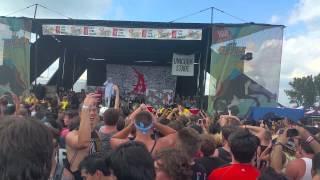 Attila At Warped Tour 2015 Chicago