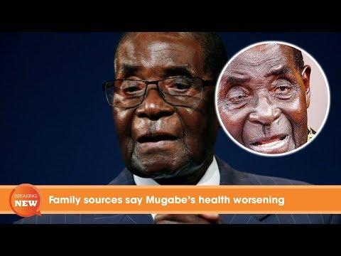Zimbabwe latest news: Family sources say Mugabe's health worsening