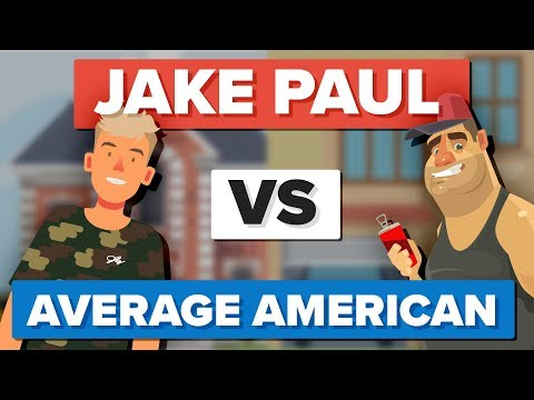 Thumbnail: Jake Paul vs Average American - How Do They Compare? - People Comparison