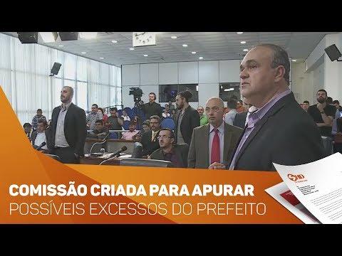 Comissão criada para apurar possíveis excessos do Prefeito de Sorocaba - TV SOROCABA/SBT