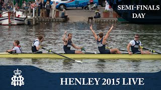 Semi-Finals Day Live | Henley Royal Regatta 2015