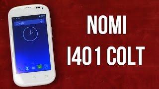 Распаковка Nomi i401 Colt