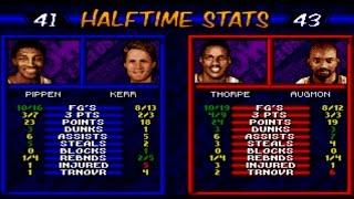 NBA Hangtime (1996) Gameplay (Sega Genesis\Mega Drive)