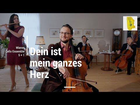 Dein ist mein ganzes Herz.Yours Is My Heart Alone.Franz Lehar / Wiener Cello Ensemble 5+1