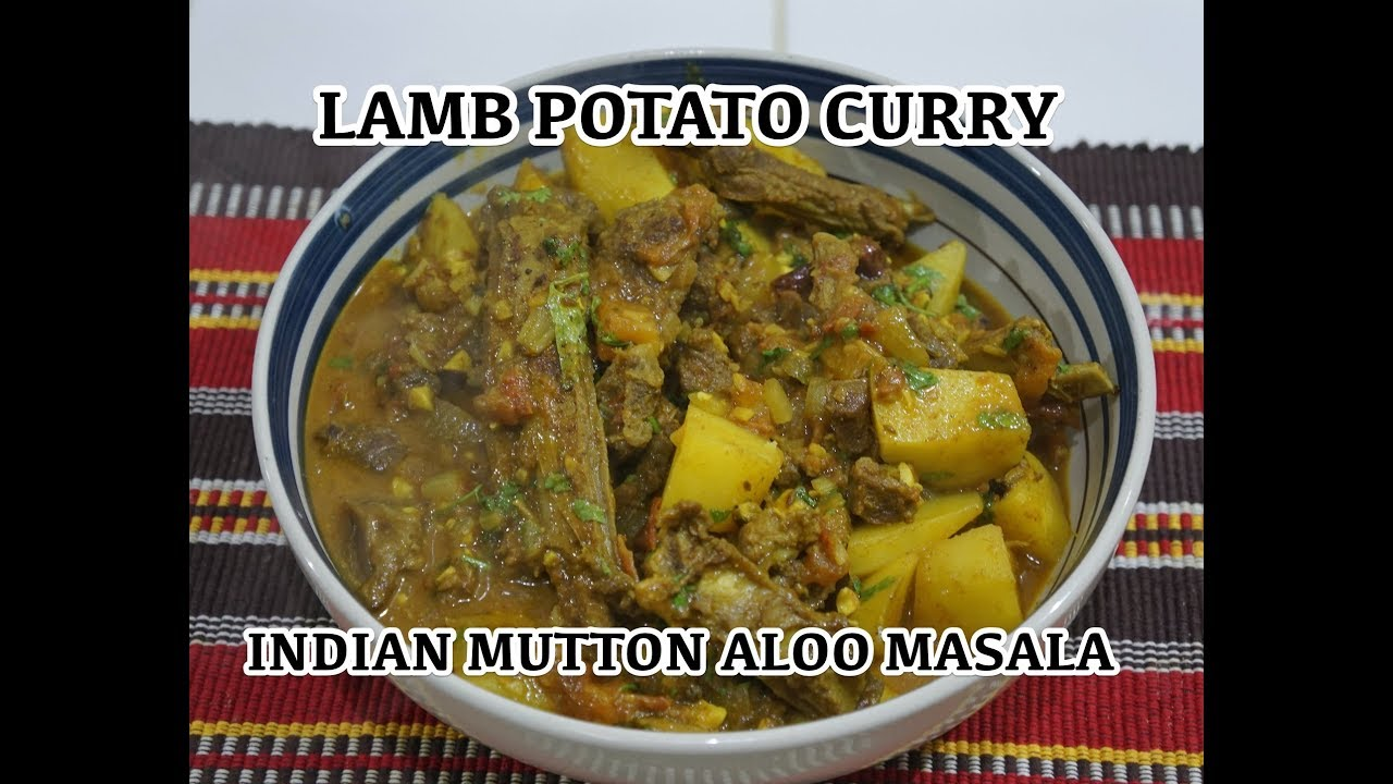 Lamb potato curry recipe indian masala youtube lamb potato curry recipe indian masala forumfinder Image collections