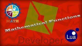 Mathematical functions in LUA [Roblox Studio]