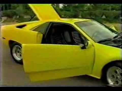 Artero rebody kit for Pontiac Fiero