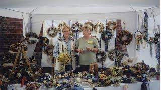 Adventskränze für neuen Lebensmut: Aktiv auf dem Weihnachtsmarkt