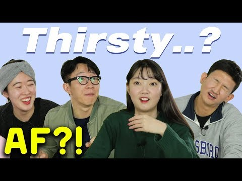 Koreans Try to Guess American Slangs [Korean Bros]