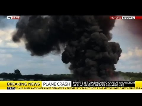 Blackbushe Airport Plane Crash Witness Describes Scene