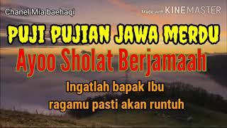 Download Lagu Puji Pujian Jawa Merdu Ayoo Sholat Berjamaah/Ust Mahfudz mp3