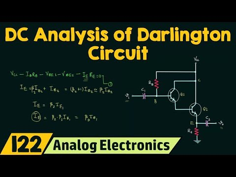 DC Analysis of Darlington Circuit