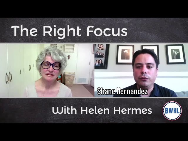The Right Focus - Shane Hernandez - Republican Michigan 83rd District running for US Congress