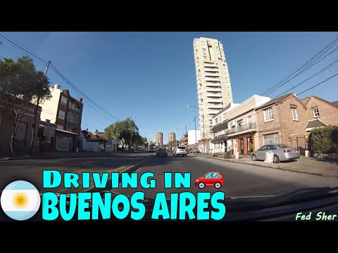 Driving in Buenos Aires (from Banfield to Adrogué)
