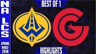 GGS vs CG Highlights | NA LCS Week 9 Spring 2018 W9D2 | Golden Guardians vs Clutch Gaming Highlights