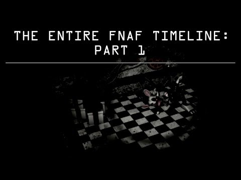 THE ENTIRE FNAF TIMELINE v2: PART 1