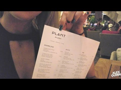 PLANT MIAMI | SACRED SPACE | HIGH END VEGAN | WHAT WE EAT