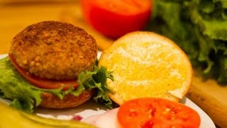 Veggie Kitchen Nut Burger