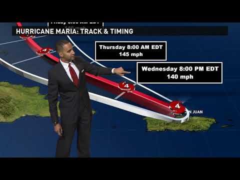 Hurricane Maria: Tracking the storm's path