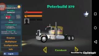 Grand Truck Simulator skin editado del Peterbilt