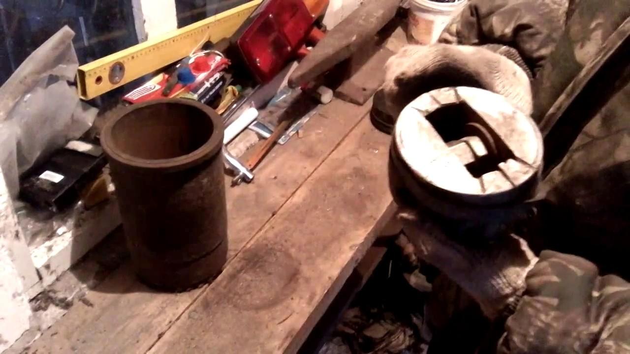 Съемник для гильз ремонт КАМАЗа